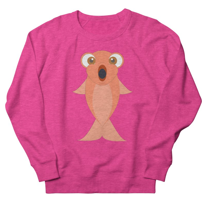 Shock Cousteau's Koi Women's French Terry Sweatshirt by Runderella's Artist Shop