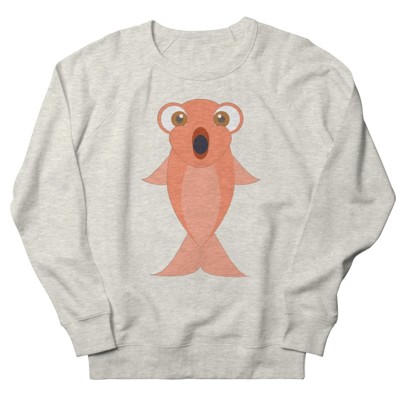 Shock Cousteau's Koi Women's French Terry Sweatshirt by Runderella's Artist Shop