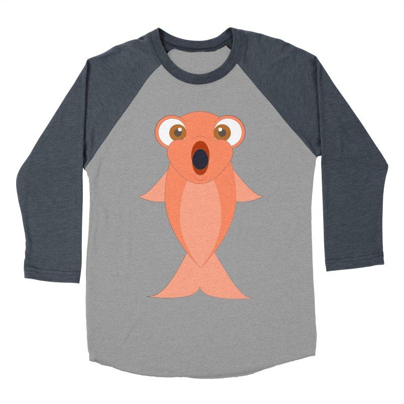 Shock Cousteau's Koi Women's Baseball Triblend Longsleeve T-Shirt by Runderella's Artist Shop