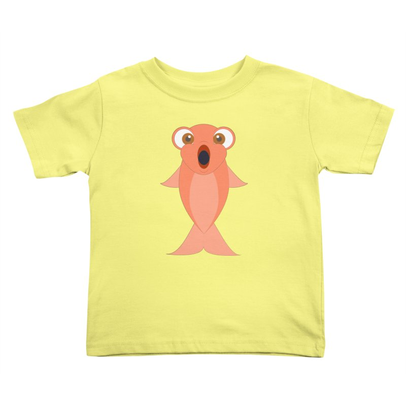 Shock Cousteau's Koi Kids Toddler T-Shirt by Runderella's Artist Shop