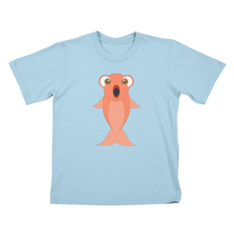Shock Cousteau's Koi Kids T-Shirt by Runderella's Artist Shop
