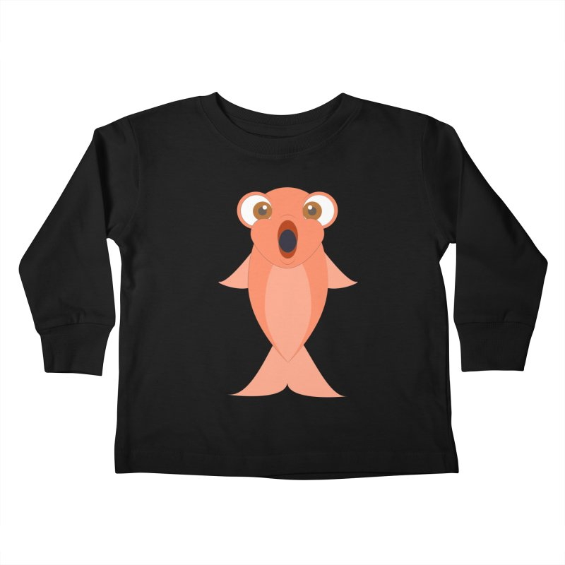 Shock Cousteau's Koi Kids Toddler Longsleeve T-Shirt by Runderella's Artist Shop