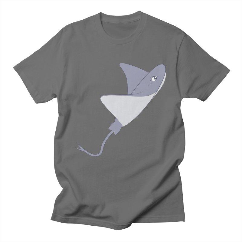 Shock Cousteau's Stingray Women's Regular Unisex T-Shirt by Runderella's Artist Shop