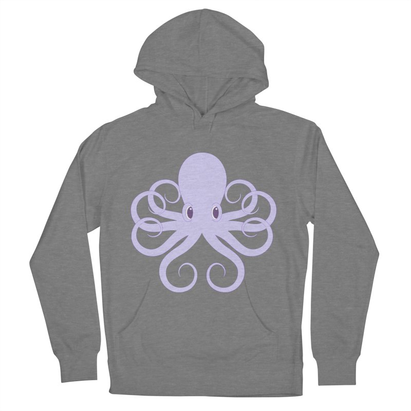 Shock Cousteau's Octopus Women's French Terry Pullover Hoody by Runderella's Artist Shop