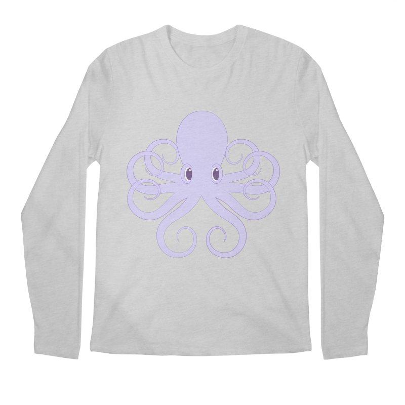Shock Cousteau's Octopus Men's Regular Longsleeve T-Shirt by Runderella's Artist Shop