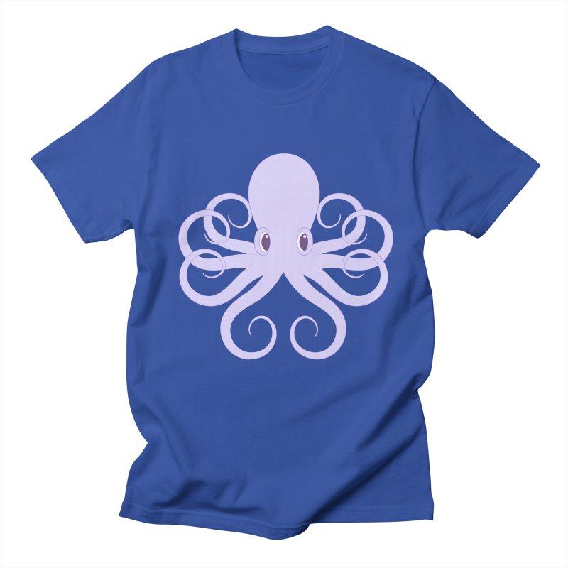 Shock Cousteau's Octopus Women's Regular Unisex T-Shirt by Runderella's Artist Shop