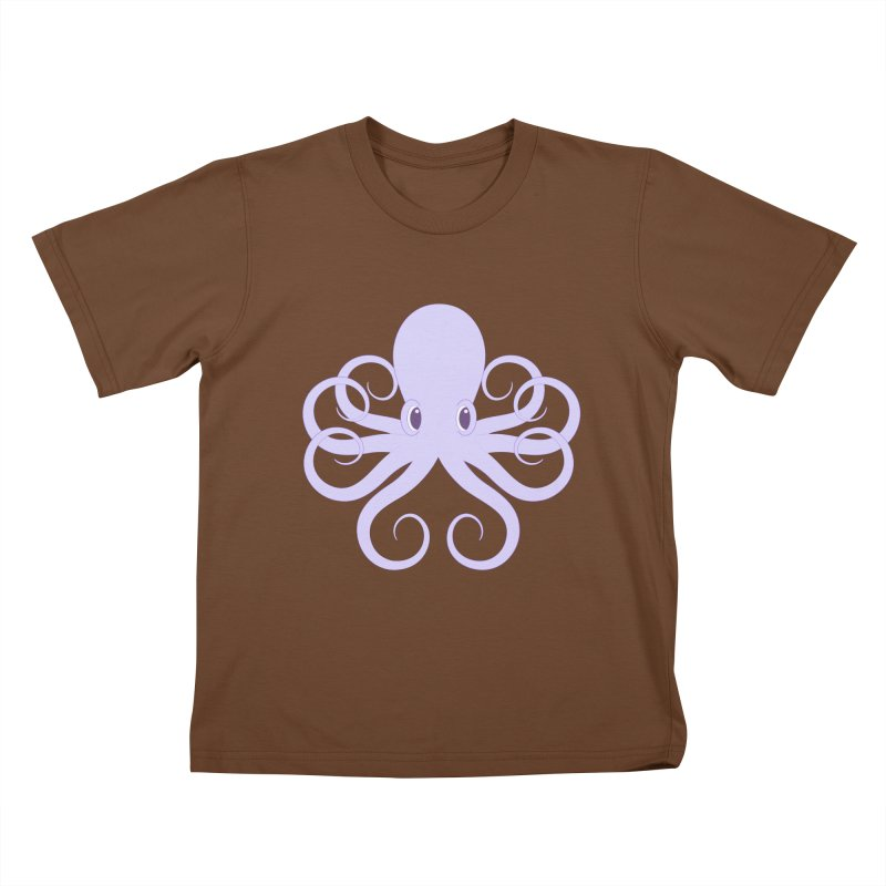 Shock Cousteau's Octopus Kids T-Shirt by Runderella's Artist Shop