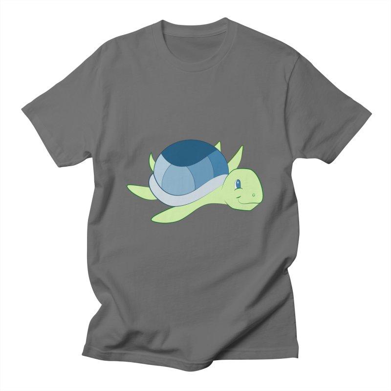 Shock Cousteau's Sea Turtle Men's T-Shirt by Runderella's Artist Shop