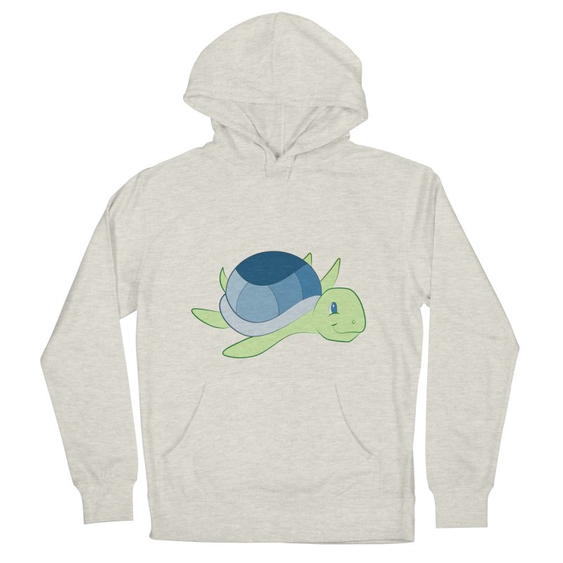 Shock Cousteau's Sea Turtle Women's French Terry Pullover Hoody by Runderella's Artist Shop