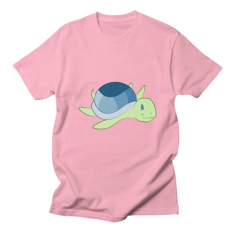 Shock Cousteau's Sea Turtle Women's Regular Unisex T-Shirt by Runderella's Artist Shop