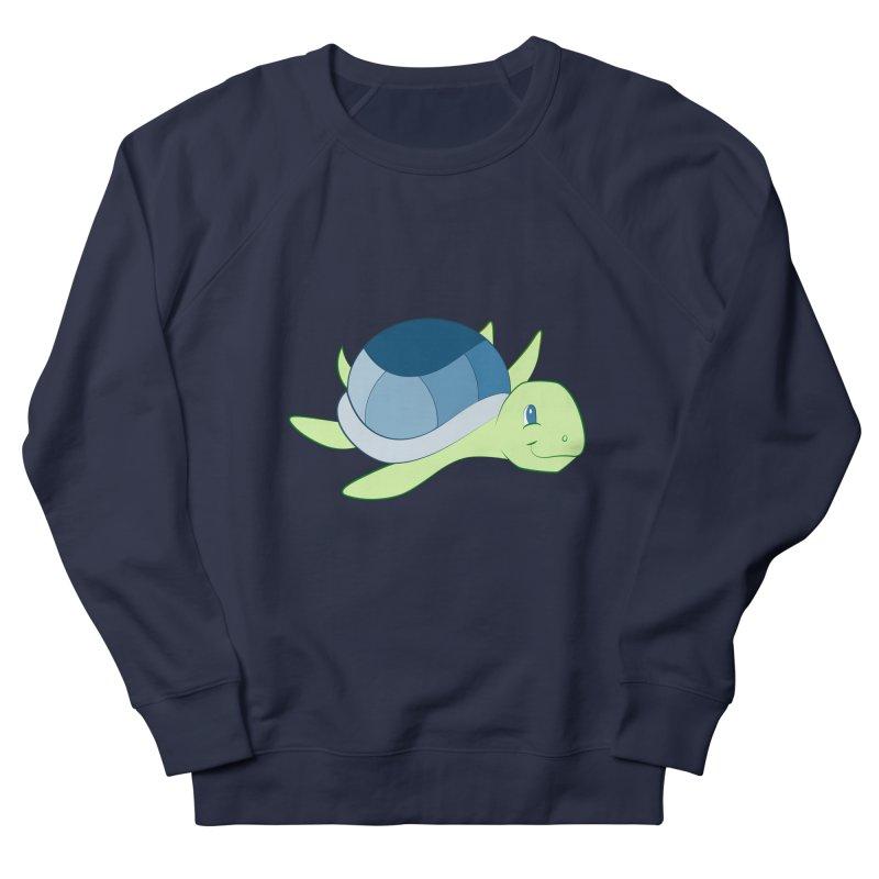 Shock Cousteau's Sea Turtle Women's French Terry Sweatshirt by Runderella's Artist Shop