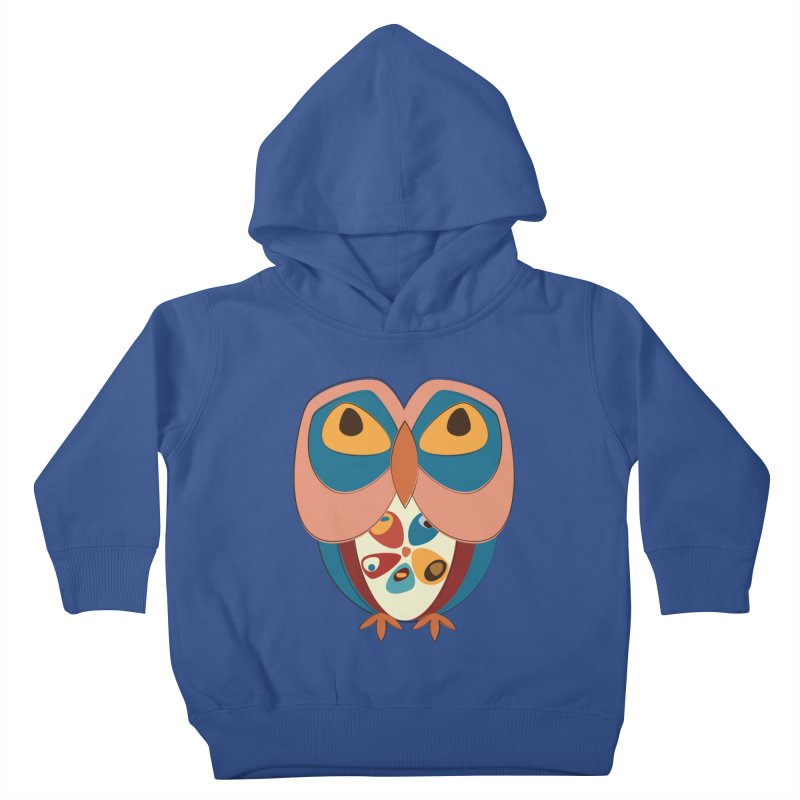 Pleading Owlet Kids Toddler Pullover Hoody by Runderella's Artist Shop