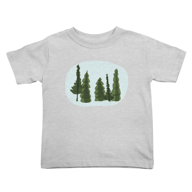 Conifer Crew Kids Toddler T-Shirt by shop ruralie