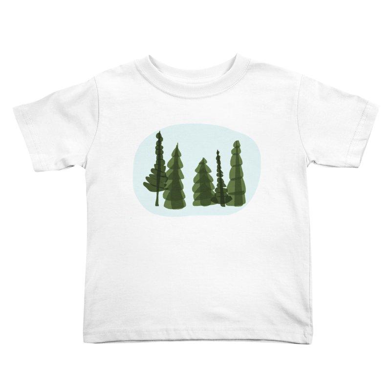 Conifer Crew Kids Toddler T-Shirt by shop ruralie