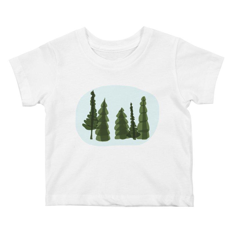 Conifer Crew Kids Baby T-Shirt by shop ruralie
