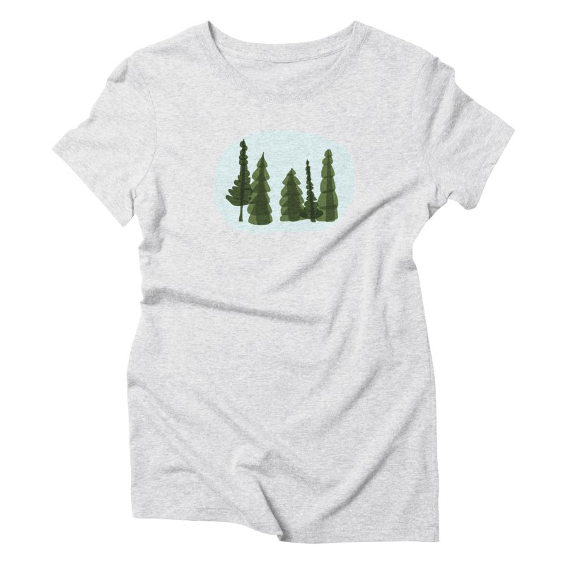 Conifer Crew Women's Triblend T-Shirt by shop ruralie