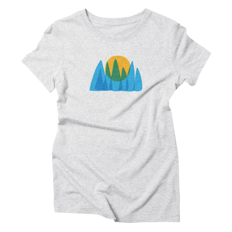 Sun Up Women's Triblend T-Shirt by shop ruralie