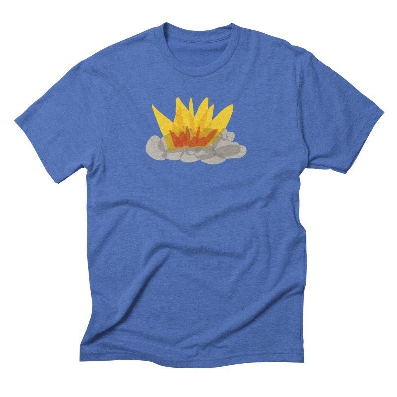 Campfire Men's T-Shirt by shop ruralie