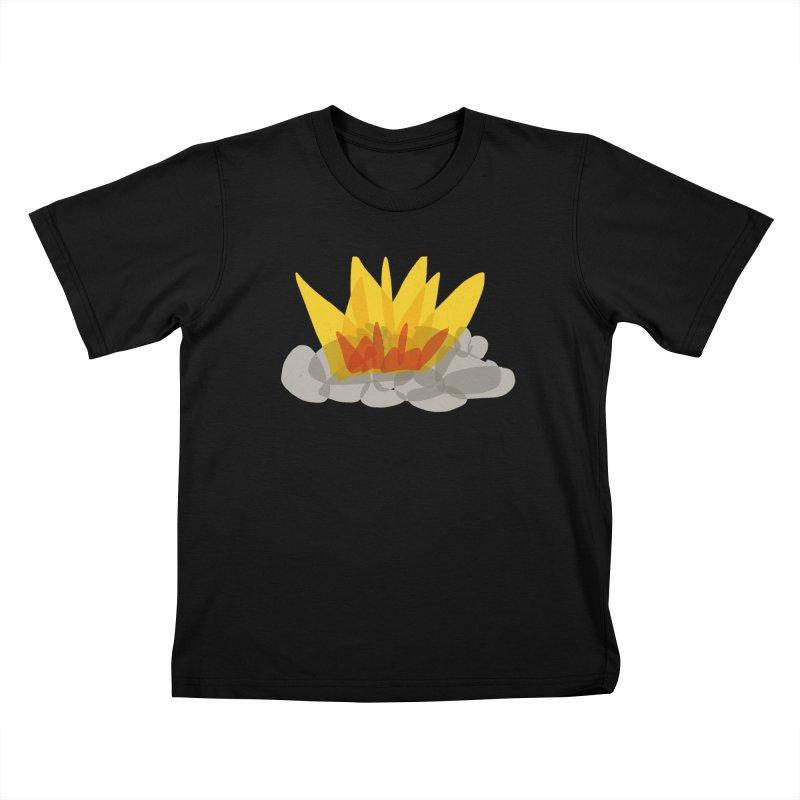 Campfire Kids T-Shirt by shop ruralie
