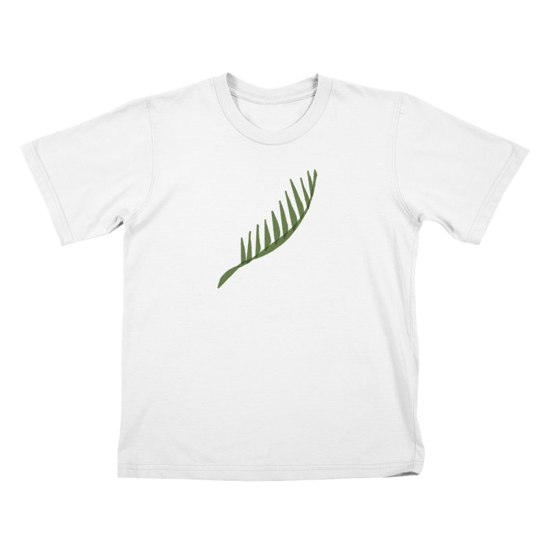 Frond Kids T-Shirt by shop ruralie