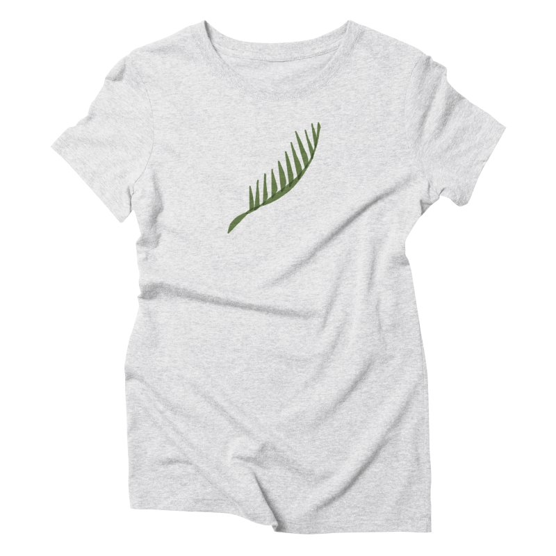 Frond Women's Triblend T-Shirt by shop ruralie