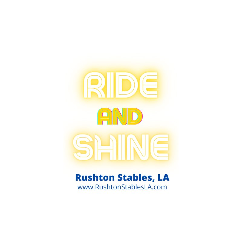 Ride and Shine Accessories Sticker by RushtonStablesLA's Artist Shop