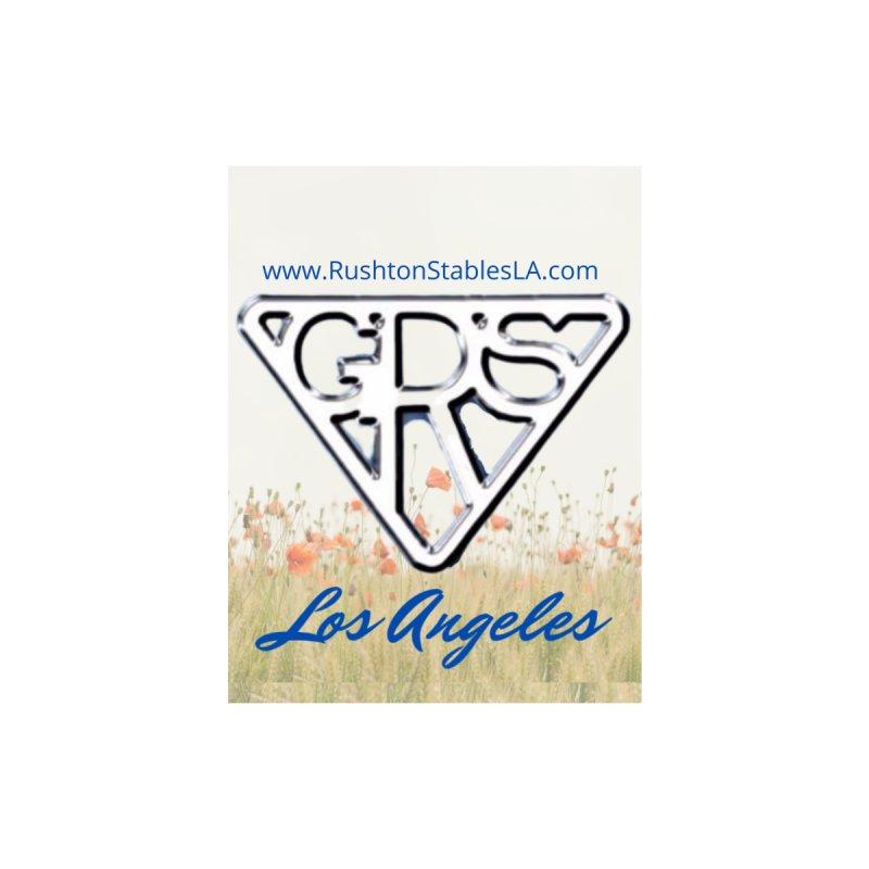 Rushton Stables, LA Poppies Women's T-Shirt by RushtonStablesLA's Artist Shop