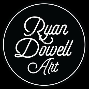 RyanDowellArt's Artist Shop Logo