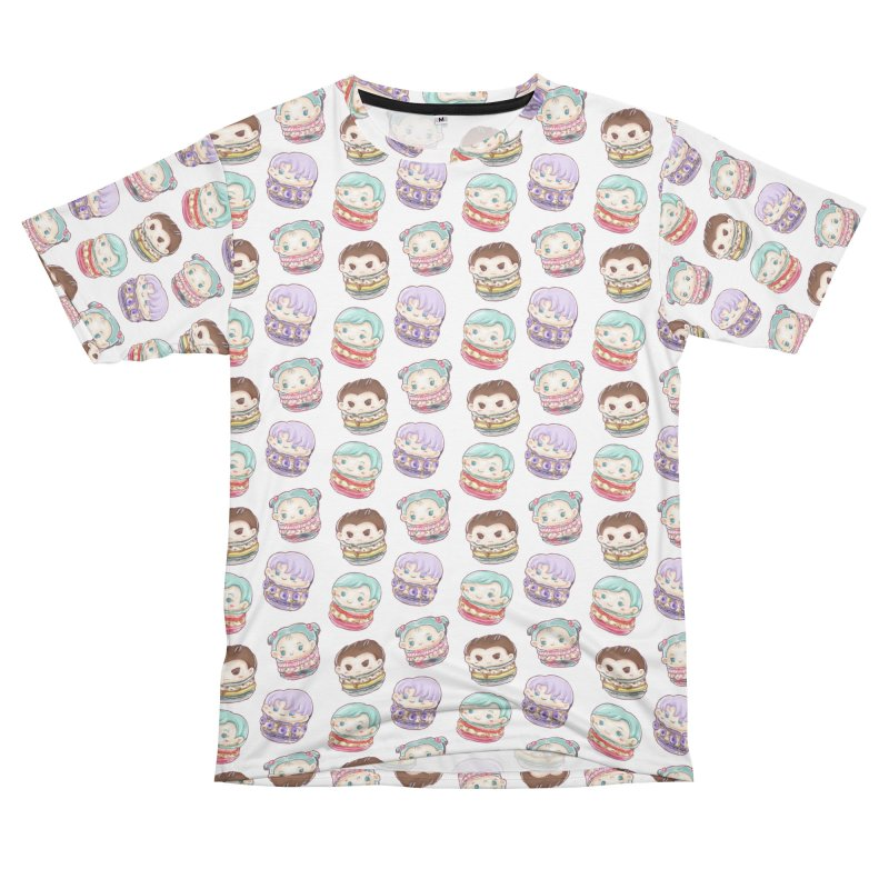 CC Family Chibi Macarons Men's Cut & Sew by RyeCereal's Shop