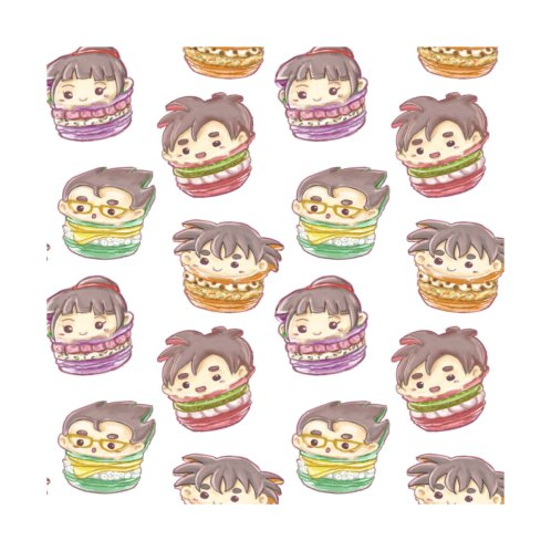 Design for Son Family Chibi Macarons