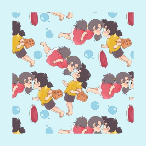 Design for Hanvi x Ponyo Chibis