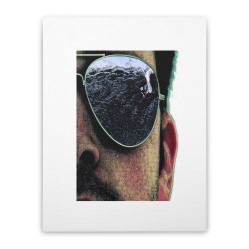 image for surfer glasses reflection
