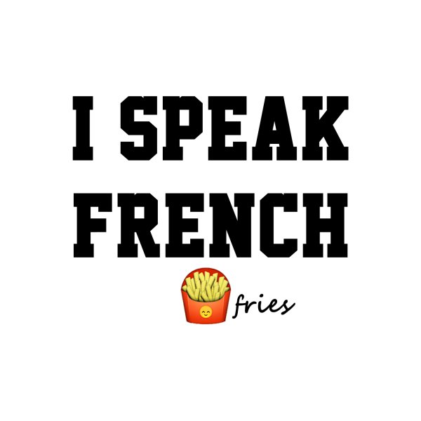 image for I speak French