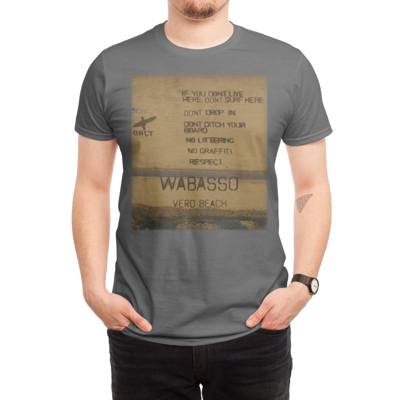 Locals Only Wabasso Vero Beach Florida Men's T-Shirt by SWAG SurfWear