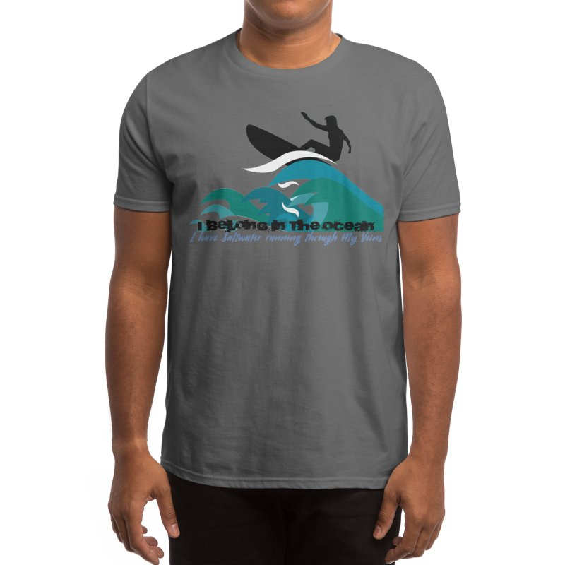 Saltwater Men's T-Shirt by SWAG SurfWear