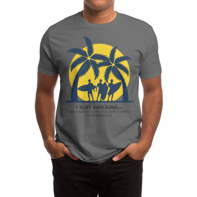 Surf Wonderland Men's T-Shirt by SWAG SurfWear