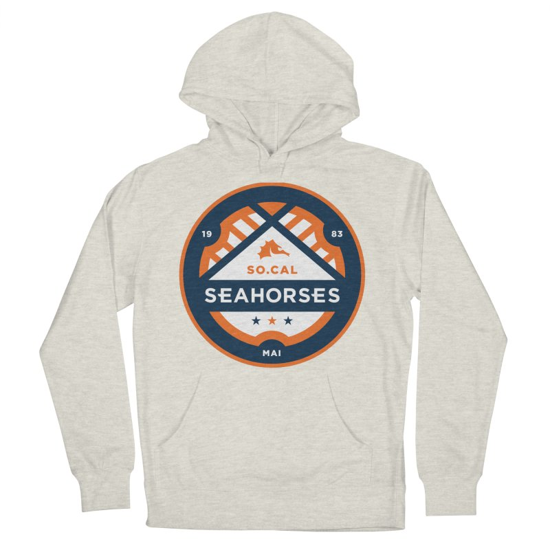 Seahorse Soccer Crest Women's French Terry Pullover Hoody by SEAHORSE SOCCER's Artist Shop