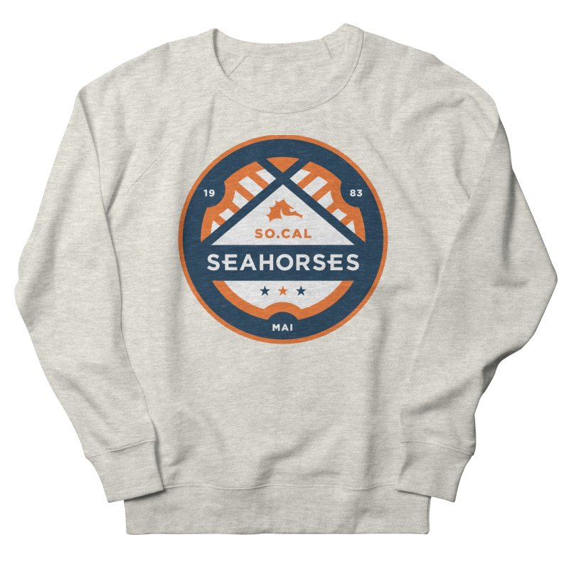 Seahorse Soccer Crest Women's French Terry Sweatshirt by SEAHORSE SOCCER's Artist Shop