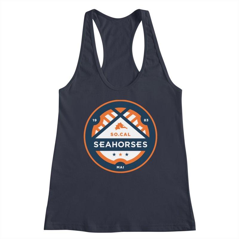 Seahorse Soccer Crest Women's Tank by SEAHORSE SOCCER's Artist Shop