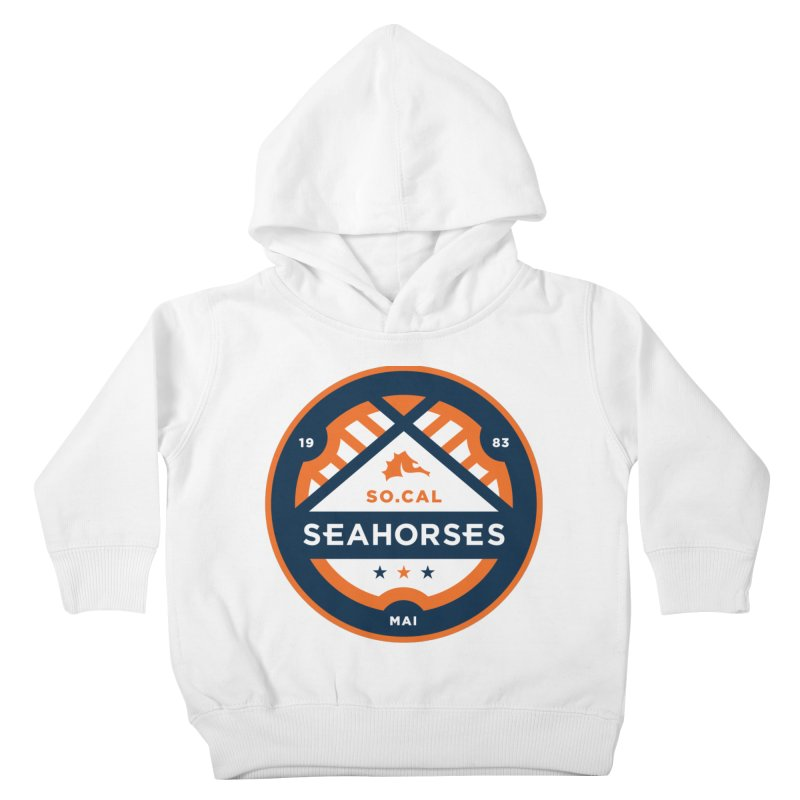 Seahorse Soccer Crest Kids Toddler Pullover Hoody by SEAHORSE SOCCER's Artist Shop