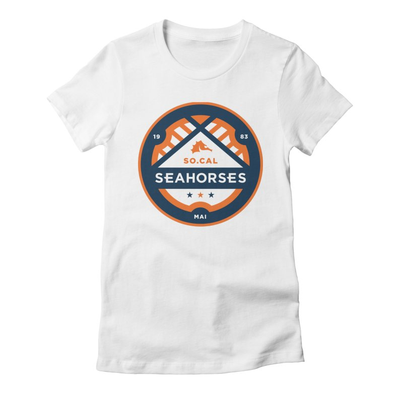 Seahorse Soccer Crest Women's T-Shirt by SEAHORSE SOCCER's Artist Shop