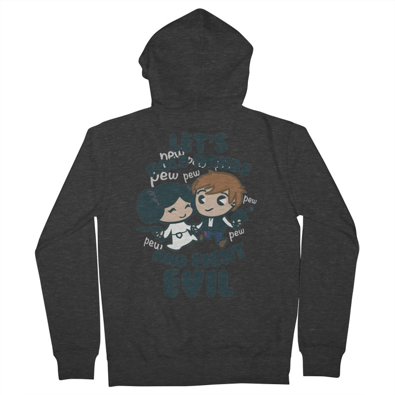 HOLD HANDS  v.1 Men's Zip-Up Hoody by SIRDYNAMO ARTIST SHOP