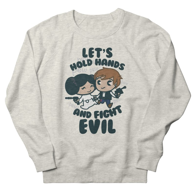 HOLD HANDS  v.1 Women's Sweatshirt by SIRDYNAMO ARTIST SHOP