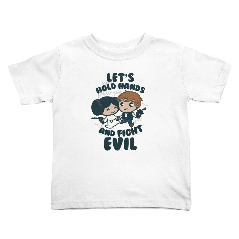 HOLD HANDS  v.1 Kids Toddler T-Shirt by SIRDYNAMO ARTIST SHOP