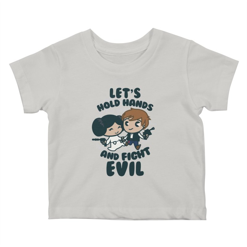 HOLD HANDS  v.1 Kids Baby T-Shirt by SIRDYNAMO ARTIST SHOP