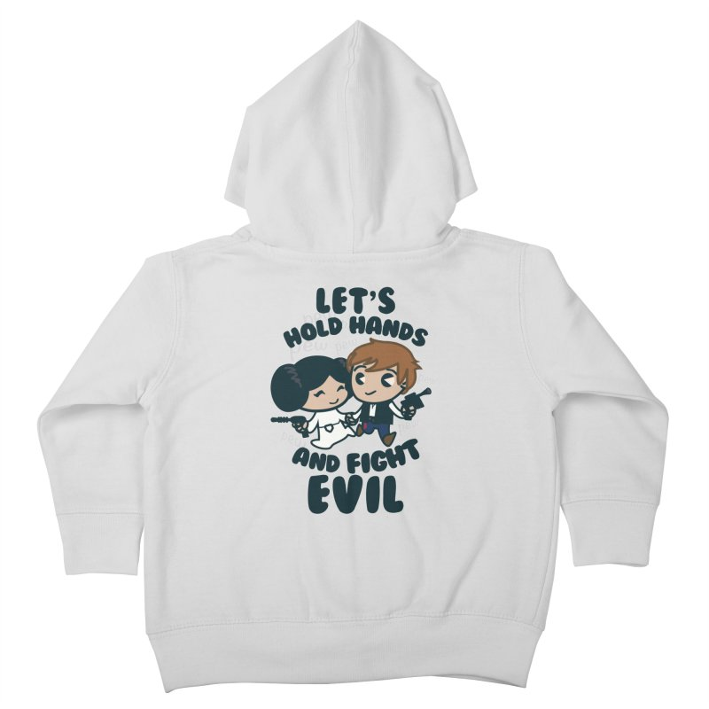 HOLD HANDS  v.1 Kids Toddler Zip-Up Hoody by SIRDYNAMO ARTIST SHOP