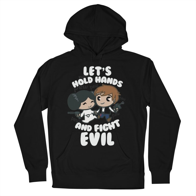 HOLD HANDS v.2 Women's Pullover Hoody by SIRDYNAMO ARTIST SHOP