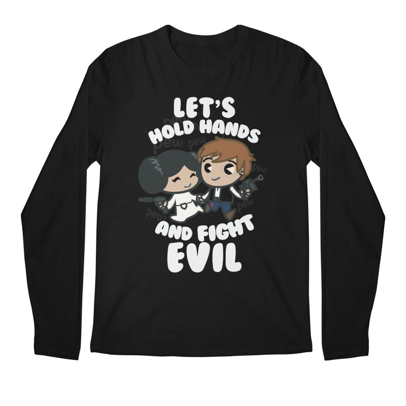 HOLD HANDS v.2 Men's Longsleeve T-Shirt by SIRDYNAMO ARTIST SHOP