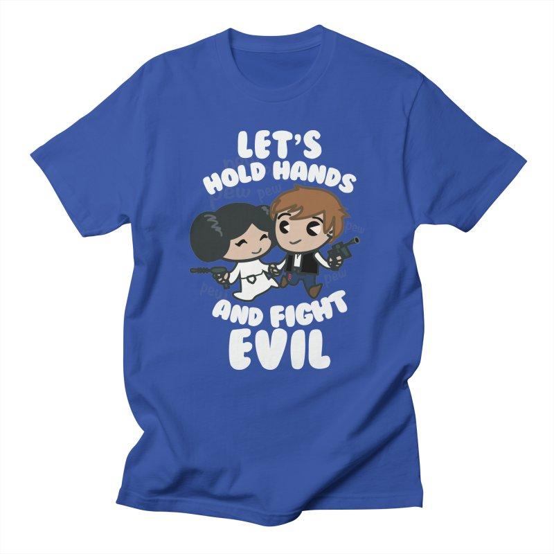 HOLD HANDS v.2 Men's T-shirt by SIRDYNAMO ARTIST SHOP