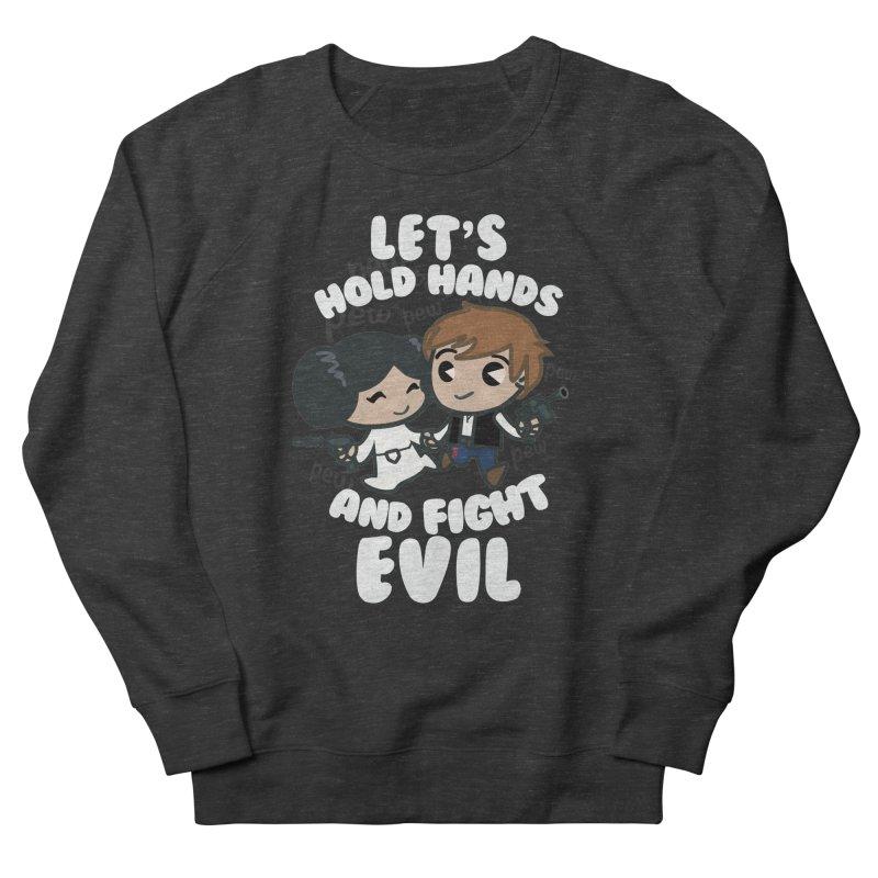 HOLD HANDS v.2 Women's Sweatshirt by SIRDYNAMO ARTIST SHOP